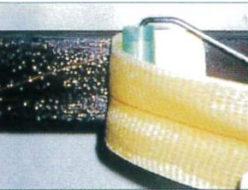 タフロンウッドP+アラミド繊維補強工法