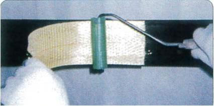 タフロンウッドP+アラミド繊維